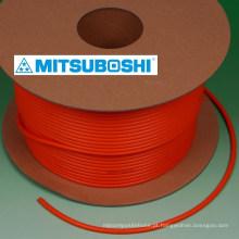 Mitsuboshi Cinto de poliuretano e cinto de correia. Excelente e forte. Feito no Japão (cinto de poliuretano)