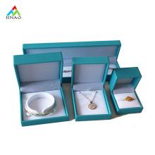 Unique Aquamarine PU Leather Jewelry Box