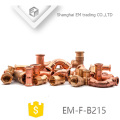 EM-F-B215 Raccord de tuyau de cuivre de qualité supérieure