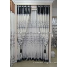 2013 polyester embroidery fabric curtain