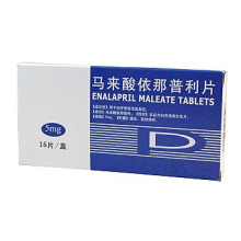 Gute Qualität 5mg, 10mg, 20mg Enalapril Maleate Tabletten