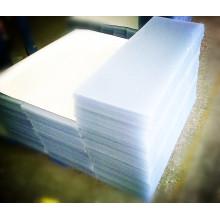 Folha rígida do PVC da certificação do GV do fabricante chinês para a mobília e o material de revestimento