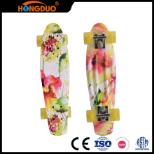 Reasonable design kids custom 4 wheels longboard skateboard