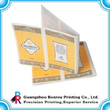 Pegatina de etiqueta de papel adhesivo parte personalizada impresa