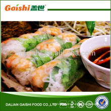 Hot sale high quality delicious frozen vegetable spring rolls