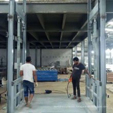 Factory price Stereo garage used car lift hydraulic cargo lifting table with factory price