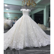 China guangzhou off shoulder wedding dress bridal 2017 WT423