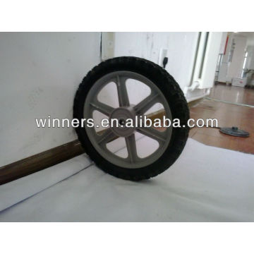 "semi-pneumatic rubber wheel 12""x 1.75"""