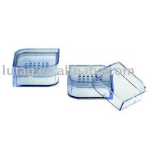 Recipientes de pó solto de embalagens de cosméticos