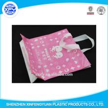 Рука Длина Ручка Пластиковая хозяйственная сумка с индивидуальным логотипом