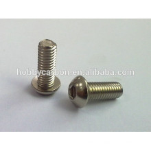 High Precision Stainless Steel Button Screw M2.5x 4mm