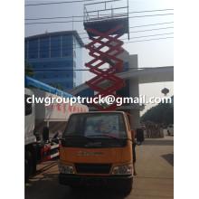Antenne de 10m JMC camion plate-forme de travail