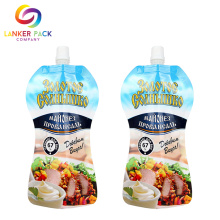 BRC+Standard+Doypack+Food+Packaging+Bag+With+Spout