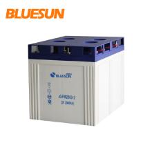 Alta calidad Bluesun ciclo profundo plomo ácido 2v 2000ah batería solar ciclo solar 2v 2000ah baterías de gel