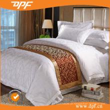 100% algodão capa de edredão jacquard (dpf052947)