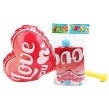 Juguetes para niños Juguete inflable del corazón del amor con la bomba (H10216009)