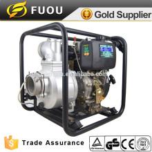 """4 """"de alta presión de la bomba de limpieza de chorro de agua con motor de potencia fuerte Diesel"""