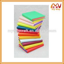 Caderno de couro recarregável de simulação avançada, notebook mais popular da escola