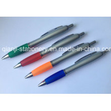 Caneta promocional barata com impressão caneta plástica impressão do logotipo (P3010B)