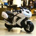 Passeio elétrico de 3 rodas em velomotor plásticos da polícia do brinquedo para crianças
