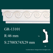 construction material PU architectural cornice for home interior decorations