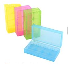 Caja de batería de plástico de diferentes colores de venta caliente