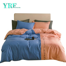 Made in China Hotel Apartment Stain Resistant Simple Style Microfiber Brushed Bed Sheet Set