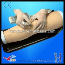 Modelo de treinamento de injeção intra-articular eletrônico ISO, simulador de injeção de articulação do joelho