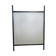 Grille de porte à installation facile noire et blanche