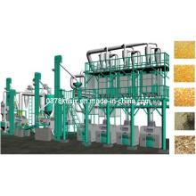 Maize Degerming and Milling, Máquina de moagem de milho com processo de desmineralização