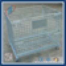 Запираемая клетка для хранения металлической сетки