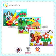 Novel EVA foam sticker toy for kids