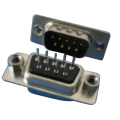 DP01-MXXXXX D-SUB PCB Male Dual Row Straight (gestempelde pin)