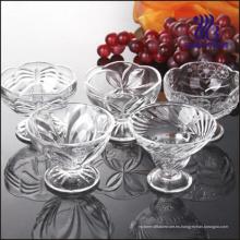 Copa de helado de vidrio espiral (GB1003ZS)