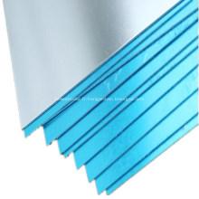Feuille d'aluminium pour équipement de fabrication de panneaux solaires