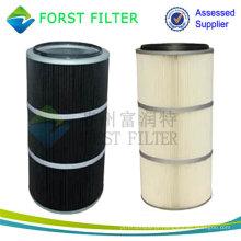 FORST Cartucho antiestático de filtro de poeira de poliéster para coletor