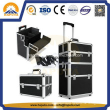 2 in 1 Trolley Makeup Travel Case (HB-3313)