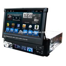 ¡Gran venta! Fabricante 7 '' 1din universal Auto DVD reproductor de DVD del coche con Radio Bluetooth, wifi, Android 6.0 / 7.1