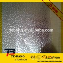 High quality Stucco embossed aluminum sheet laminated