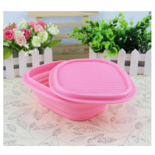 Perona Warna Shock-proof Silicone Foldable Kids Bowl