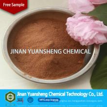 Dispersante de abono / proveedor de encuadernación Suministro de lignosulfonato de sodio con palet