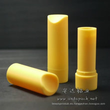 Botella para curación coloridos lápiz labial tubo