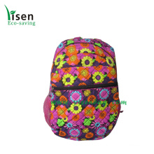 Quilted Cotton Backpack Bags (YSBP03-0018)