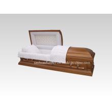 Wooden Casket & Coffin (A001)