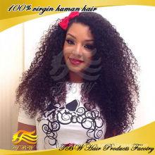 Высокое качество монгольский волосы бесклеевой кружева парики, афро кудрявый кружева перед парики для чернокожих женщин