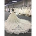 Arabic Princess Luxury Noble Ball Gown Sleeveless Wedding Dress Bridal Gown 2018