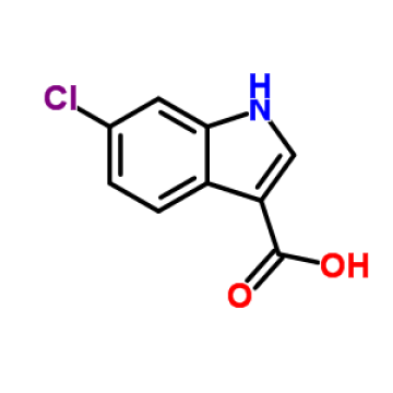 97% d'acide MIN 6-chloroindol-3-carboxylique CAS NO.766557-02-2