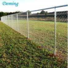 PVC Coated Diamond Chain Link Cyclone Wire Fence