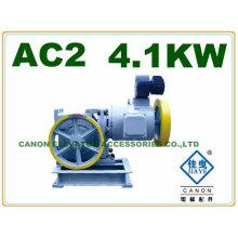 400KG 4.1KW motor de elevador de AC2