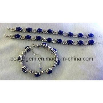 Moda joias de prata pulseira Lapis (BR0058)